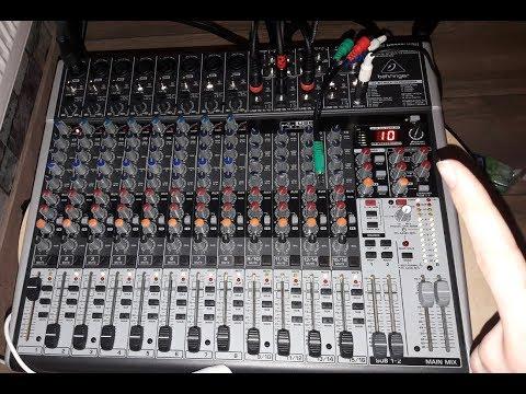 1. Soundcheck Meiner PA-Anlage