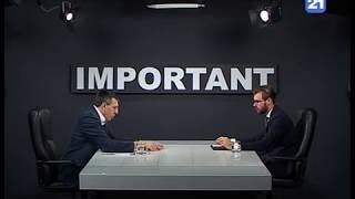 Dorin Chirtoacă la emisiunea «IMPORTANT»  18.12.2018