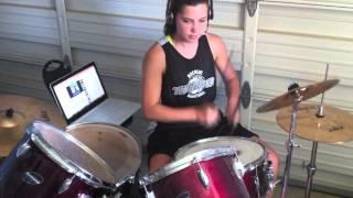 Wipe Out Drum Cover   Lauren Clark