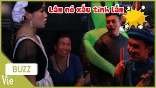 Mẹ ruột Dương Lâm bất ngờ ghé phim trường, Lâm Vỹ Dạ, Huỳnh Lập tranh thủ ra kể xấu đồng nghiệp