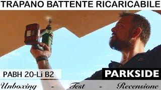 Lidl parkside pabh 20v versus bosch uneo maxx 18v versus for Tassellatore a batteria lidl