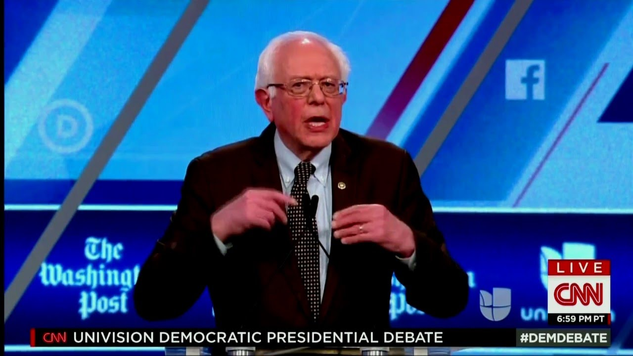 Univision Democratic Debate | The Best Line Was... thumbnail