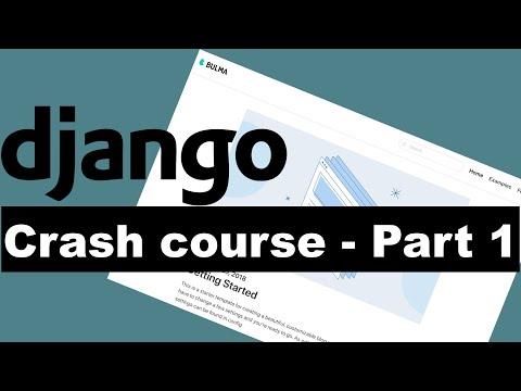 Django Crash Course Part 1 - Building a blog thumbnail
