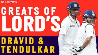 Two of India's Greatest | Rahul Dravid and Sachin Tendulkar | Lord's