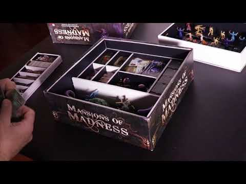 DIY Foam Core Box Insert for Mansions of Madness 1st Edition