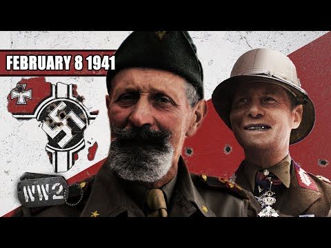 Italská katastrofa v severní Africe - Druhá světová válka