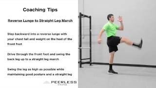 183. Reverse Lunge to Straight Leg March