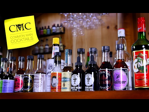 ❓ What are bitters? How are they used in a cocktail? Amari, Amaro, Non-Potable & More