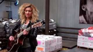 "Tori Kelly singing ""Fill a Heart"" at the Food Bank"