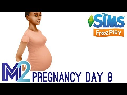 Sims FreePlay - Pregnancy Event Day 8 of 9 (Walkthrough)