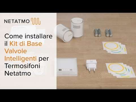 NETATMO STARTER PACK VALVES White