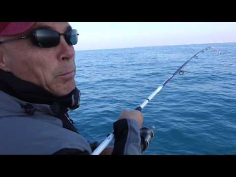 Le barche bu per pescare con una cabina