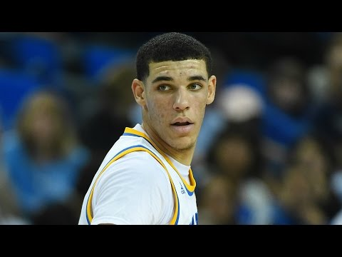 UCLA Guard Lonzo Ball Skies For Alley-Oop Dunk   CampusInsiders