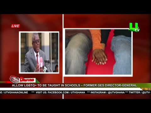 Allow LGBTQ+ to be taught in schools – Former GES Director-General