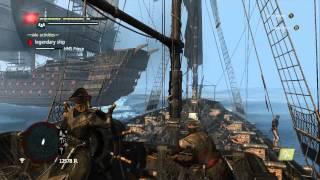 Assassin's Creed 4 Black Flag - Legendary Ship Battle - HMS Prince