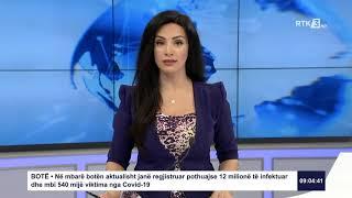 RTK3 Lajmet e orës 09:00 10.07.2020