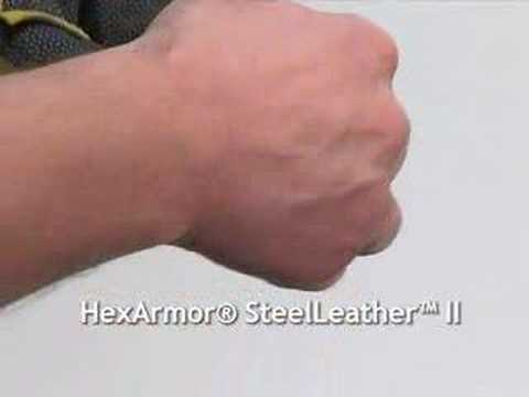 Amazing HexArmor glove test - HERCULES™ - 400R6E