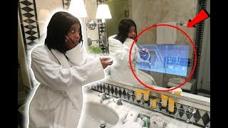Download Youtube: INSANE ITALY ROOM TOUR (THERE'S A TV IN THE MIRROR!!)