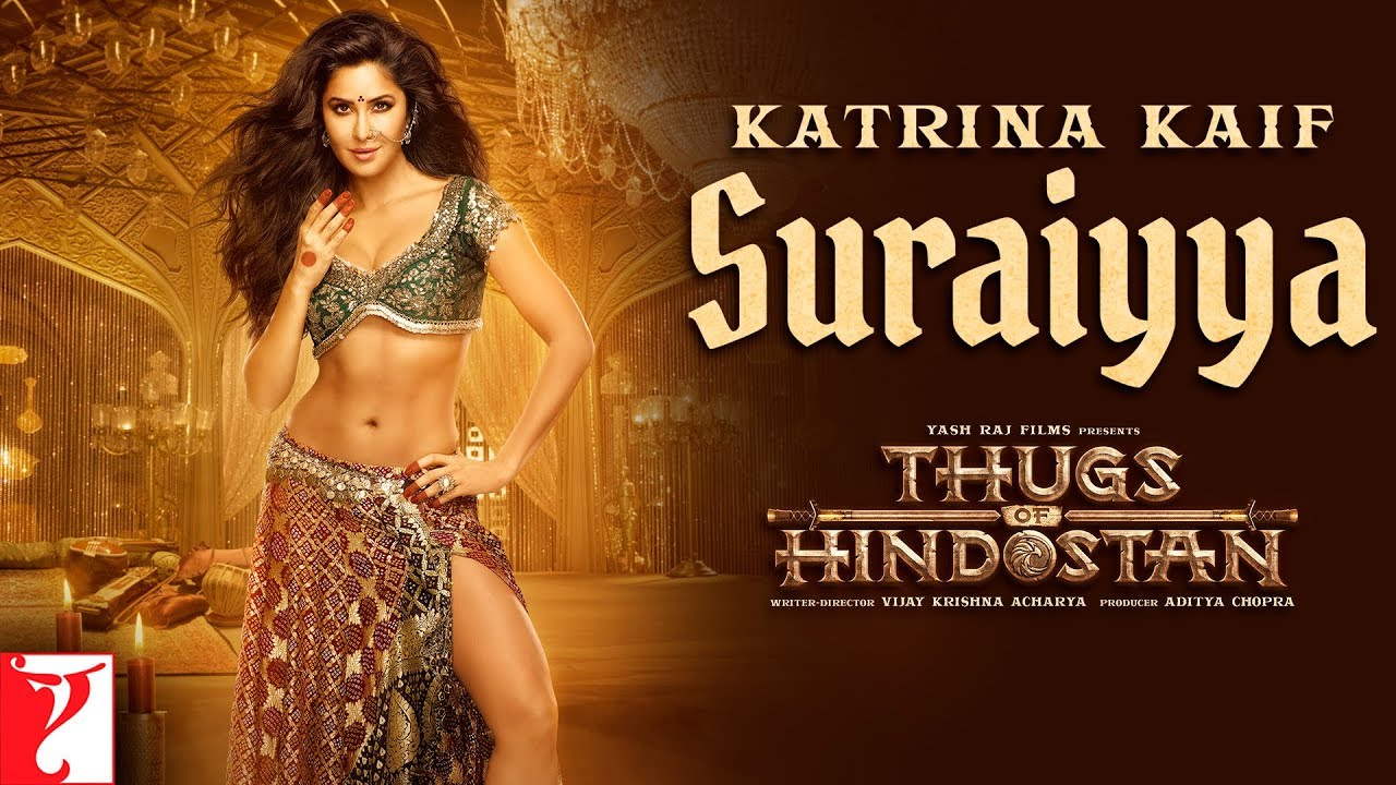 First look of Katrina Kaif as 'Suraiyya' in 'Thugs of Hindostan' is unveiled