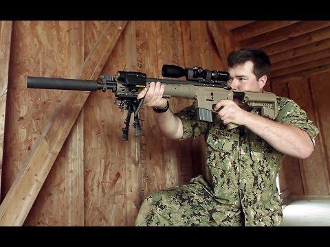 Test snipera v stresové situaci