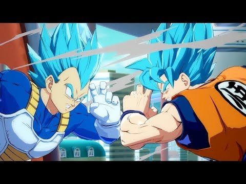 DRAGON BALL FighterZ - SSGSS Goku and Vegeta Gameplay Trailer | X1, PS4, PC thumbnail