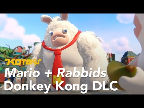 The Donkey Kong Expansion For Mario + Rabbids Is Tricky And Apparently Very Long