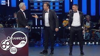 Pio E Amedeo Sketch Conquista Il Festival: Da Pippo Baudo A Fabrizio Corona E Salvini Sanremo 2019