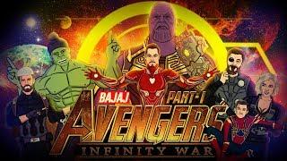 Avengers Infinity War Spoof - Part 1    Shudh Desi Endings