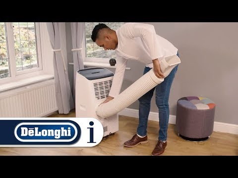 How to set up your De'Longhi portable air conditioner