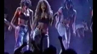Janet Jackson - That's The Way Love Goes & If (Live @ VMA '93).wmv