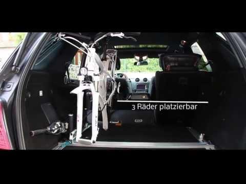 Radträger E-Bikes (und andere) im Innenraum d. Fahrzeugs -  RadFazz Träger !