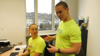 Posture Education | We100 Office Fitness Videos | Eps 02