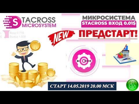 Микросистема Stacross - ПРЕДСТАРТ ЖИВОЙ ОЧЕРЕДИ! Маркетинг, пополняю баланс!