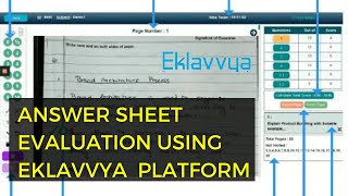 Digital Answer Sheet Evaluation Process