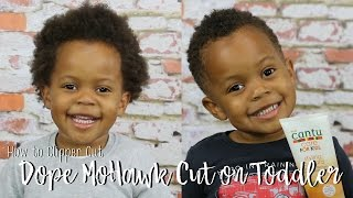 How to Clipper Cut a Dope Mohawk | Natural Hair Care for Children Series