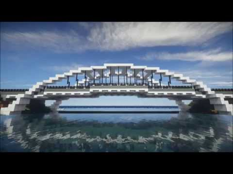 Modern Arch Bridge Minecraft Project