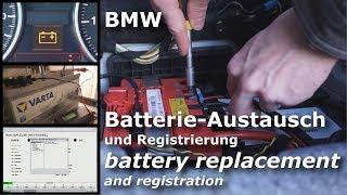 BMW AGM Batterie - Austausch / Wechseln und Registrierung Anleitung Tutorial | E93 , E92 E91 E90