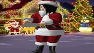 Santa Claus is comin' in a boogie woogie choo choo train - Meez!