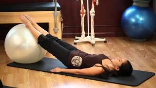 Exercise Ball by Upside-Down Pilates