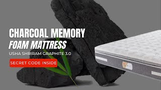 Graphite Charcoal Memory Foam Mattress