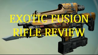 [Destiny] Plan C -  Exotic Weapon Review (Year 2)