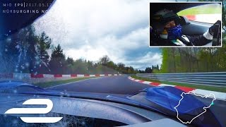 NIO EP9 Electric Supercar Breaks Nurburgring Lap Record - Full Onboard - 06:45:90