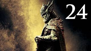 Elder Scrolls V: Skyrim - Walkthrough - Part 24 - Unexpected Dragon Battle (Skyrim Gameplay)