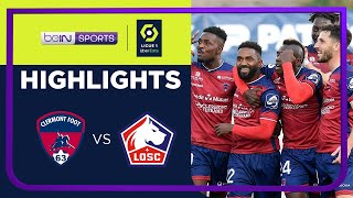 Clermont Foot 1-0 Lille Pekan 10