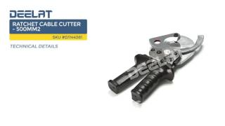 Ratchet Cable Cutter - 500mm2