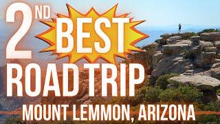 Scenic Arizona Road Trip: Tucson to Mt Lemmon Summit