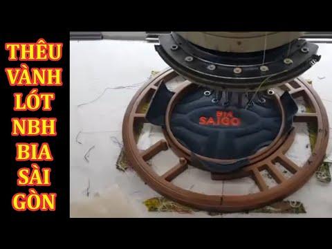Thêu vành bia Sài Gòn