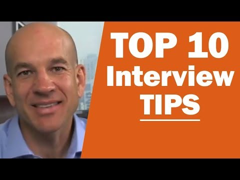 Top 10 Job Interview Tips - Training Module 2 - YouTube