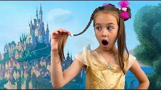 Принцесса Арина собирается на бал искать принца / видео для детей