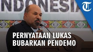 Pernyataan Gubernur Papua Bubarkan Pendemo, Janji Akan Bawa Pesan ke Jakarta